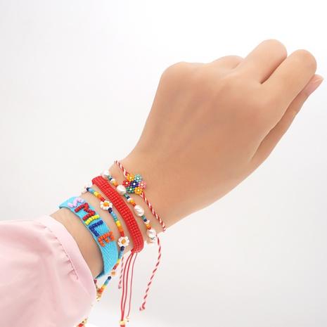 hand-woven small daisy Miyuki beads bracelet wholesale jewelry Nihaojewelry NHGW393455's discount tags