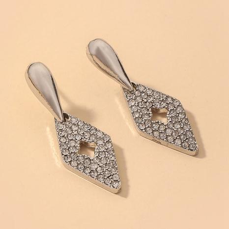 wholesale retro water drop inlaid rhinestone earrings Nihaojewelry NHNJ393605's discount tags