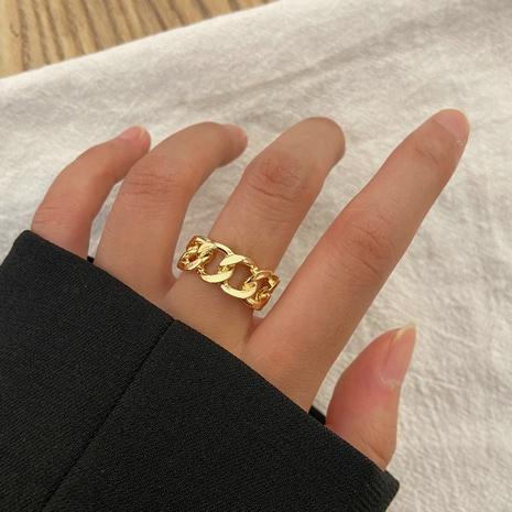 Retro hohles Paar Zeigefingerring Großhandel nihaojewelry NHPJ393622's discount tags