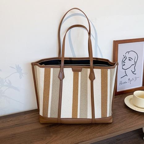 Großhandelsstreifen-Einkaufstasche mit großem Fassungsvermögen Nihaojewelry NHJZ377810's discount tags