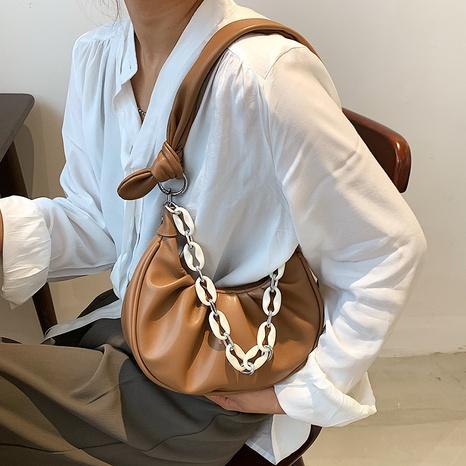 Großhandel gefaltete Acrylkette geometrische Unterarmtasche Nihaojewelry NHJZ377837's discount tags