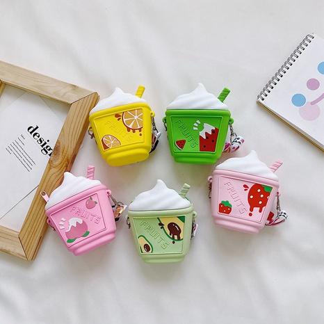 wholesale cartoon children's fruit ice cream resin messenger bag Nihaojewelry NHTG377919's discount tags