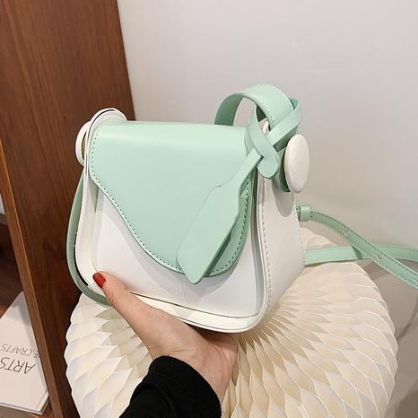 vente en gros sac messager carré de couleur menthe contrastante Nihaojewelry NHAV378015's discount tags