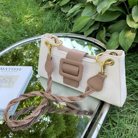 vente en gros sac géométrique de couleur contrastante sous les bras Nihaojewelry NHAV378017's discount tags