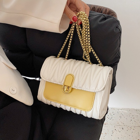 Vente en gros sac de messager en chaîne de couleur lingge Nihaojewelry NHAV378022's discount tags