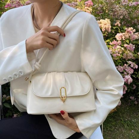 vente en gros sac à bandoulière pliable de couleur unie Nihaojewelry NHAV378028's discount tags