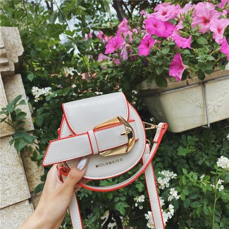 vente en gros sac messager rond à bouton en métal Nihaojewelry NHAV378029's discount tags