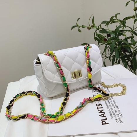 vente en gros sac messager chaîne couleur losange Nihaojewelry NHAV378031's discount tags