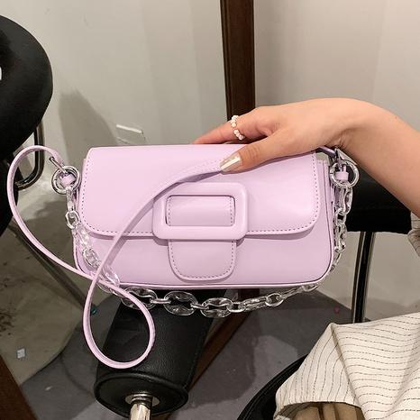 vente en gros sac à bandoulière en chaîne eacrylique de couleur unie Nihaojewelry NHAV378037's discount tags