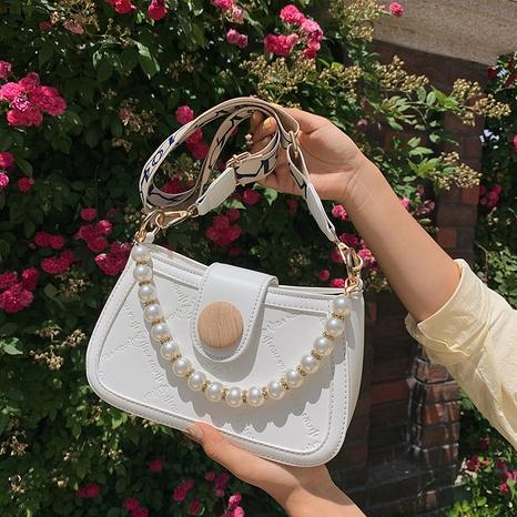 vente en gros sac de messager en chaîne de perles gaufrées à large bande Nihaojewelry NHAV378048's discount tags