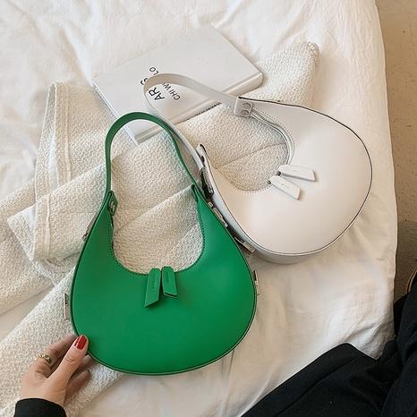 vente en gros sac de selle croissant de couleur unie Nihaojewelry NHAV378053's discount tags
