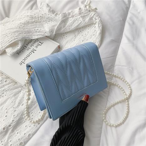 vente en gros sac de messager en chaîne de perles de couleur unie Nihaojewelry NHAV378055's discount tags