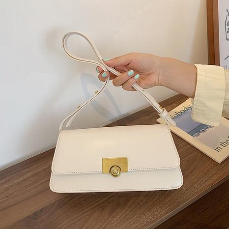vente en gros sac carré messenger géométrique de couleur unie Nihaojewelry NHAV378058's discount tags