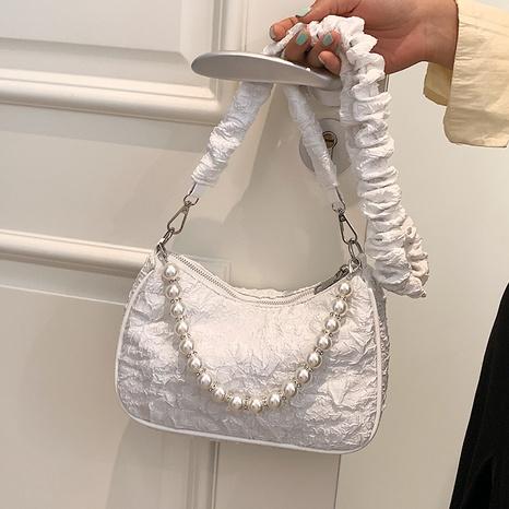 vente en gros sac de messager en chaîne de perles en tissu Nihaojewelry NHAV378059's discount tags