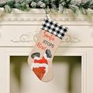NHHB1837186-STOP-black-and-white-plaid-Christmas-socks