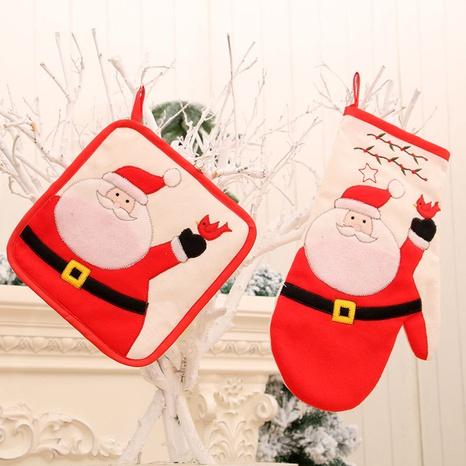 Nouveau tapis de table de gant à micro-ondes de Noël en gros Nihaojewelry NHMV394463's discount tags