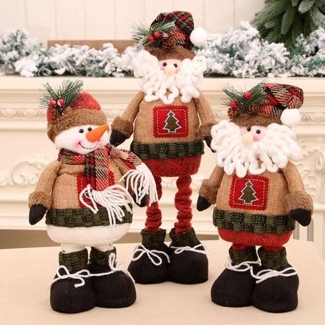 wholesale Nouvelles décorations de Noël poupée rétractable Nihaojewelry NHMV394472's discount tags