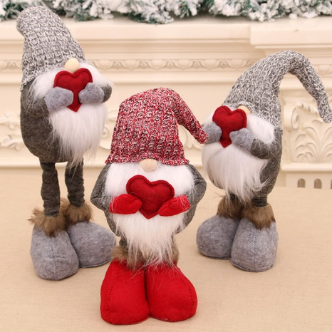 wholesale Nouvelle poupée de bonhomme de neige rétractable de Noël Nihaojewelry NHMV394473's discount tags
