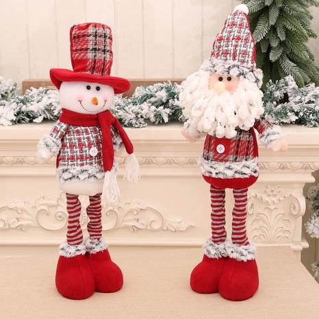 vente en gros nouvelle poupée moyenne rétractable poupée bonhomme de neige de Noël Nihaojewelry NHMV394474's discount tags