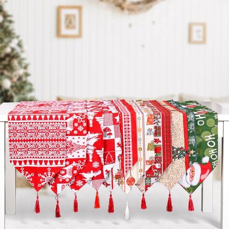 wholesale nouveau chemin de table en coton polyester décoration de Noël Nihaojewelry NHHB394480's discount tags