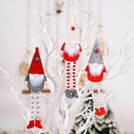 wholesale Noël Rudolph jambes suspendues poupée pendentif décoration Nihaojewelry NHHB394483's discount tags