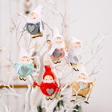 wholesale Décoration pendentif poupée boule en peluche de Noël Nihaojewelry NHHB394487's discount tags