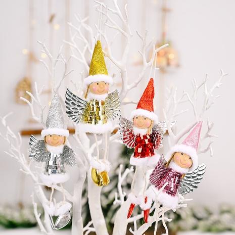 Vente en gros Noël Sequin Wings Girl Pendentif Décoration Nihaojewelry NHHB394490's discount tags