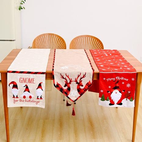 wholesale chemin de table Rudolph flocon de neige brodé appliqué Nihaojewelry NHHB394493's discount tags
