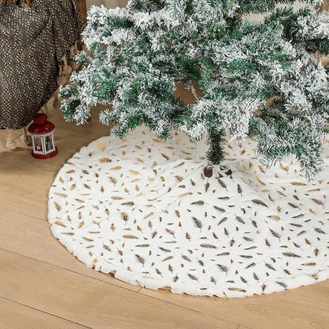 wholesale Décorations en plumes d'argent doré pour arbre de Noël Nihaojewelry NHHB394495's discount tags