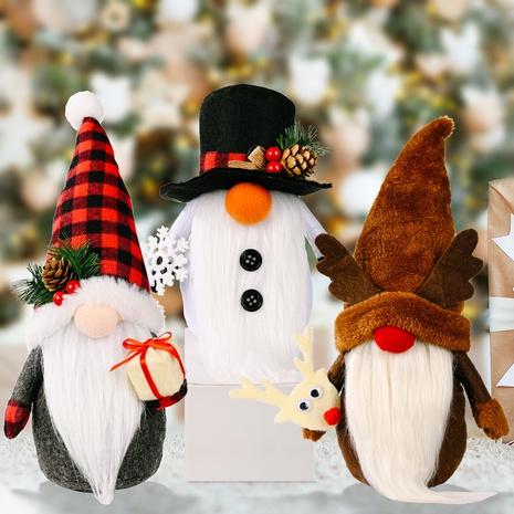 wholesale Noël Rudolph poupée ornements décoration de fenêtre de maison Nihaojewelry NHHB394500's discount tags