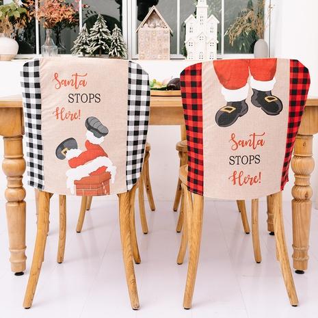 vente en gros nouvelle housse de chaise en treillis décorations de Noël Nihaojewelry NHHB394506's discount tags