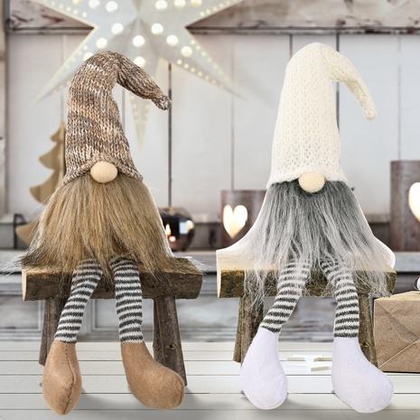wholesale Nouvelles jambes suspendues poupée sans visage Décorations de Noël Nihaojewelry NHHB394515's discount tags