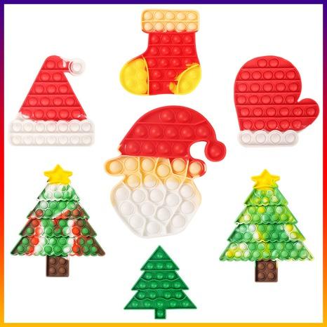 wholesale Juguete de descompresión del árbol de Navidad de Papá Noel Nihaojewelry NHZHI394575's discount tags