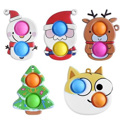 Adornos navideños al por mayor juguetes de descompresión para niños con dedos Nihaojewelry NHZHI394578's discount tags