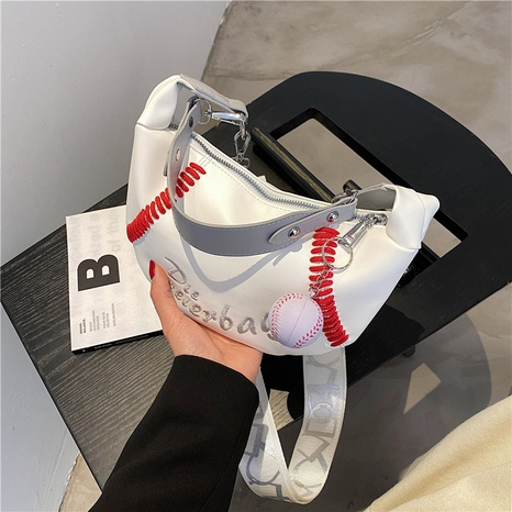 new popular sports single shoulder armpit bag wholesale nihaojewelry NHGN394847's discount tags