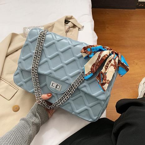 fashion chain rhombus shoulder messenger bag wholesale nihaojewelry NHGN394850's discount tags