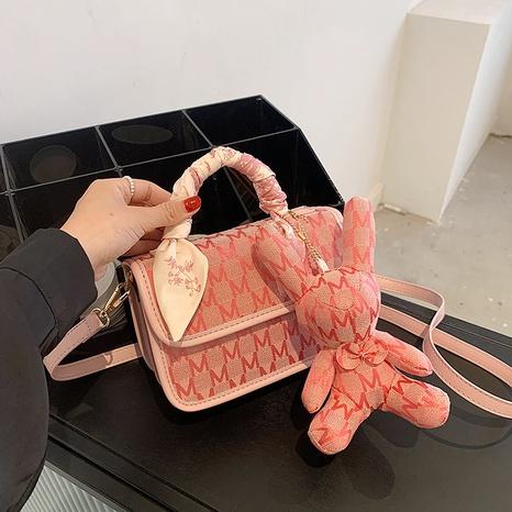 vente en gros sac à bandoulière pour poupée lapin motif lettre de mode Nihaojewelry NHGN394870's discount tags
