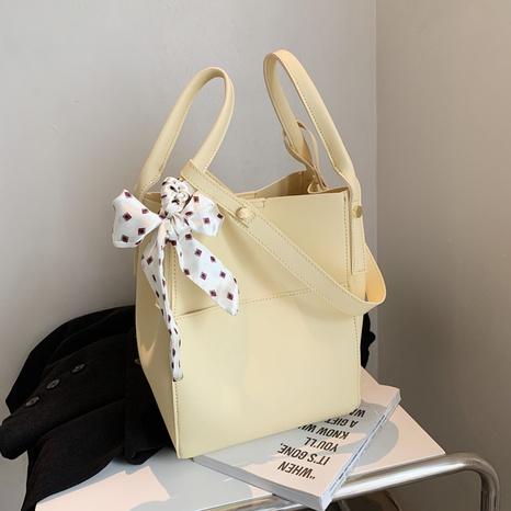 Großhandel Mode Bogen einfarbig große Unterarmtasche Nihaojewelry NHGN394877's discount tags