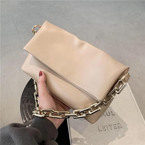 vente en gros sac sous les bras décontracté de grande capacité de couleur unie Nihaojewelry NHGN394875's discount tags