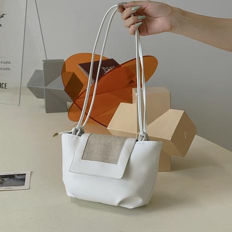 Koreanische neue Art und Weise Retro gewebte Falte Schulter Messenger Bag Großhandel nihaojewelry NHRU395014's discount tags
