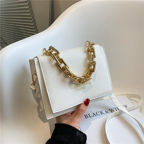 lässige quadratische einfarbige Kette mit einer Schulter Handtasche Großhandel nihaojewelry NHRU395016's discount tags
