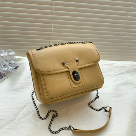 Koreanisches Modedesign einfarbig Umhängetasche Großhandel nihaojewelry NHRU395027's discount tags