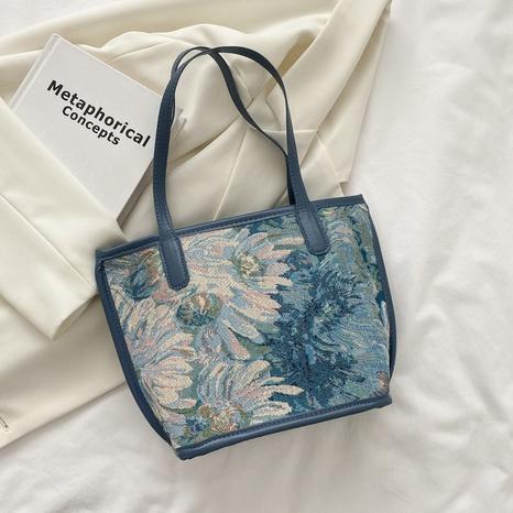 neue Art und Weise einfaches Blumengitter kleine Einkaufstasche Großhandel nihaojewelry NHRU395038's discount tags