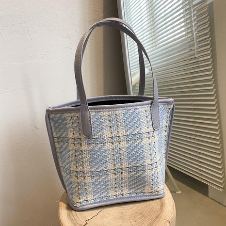 Mode große Kapazität Leinwand eine Schulter-Einkaufstasche Großhandel nihaojewelry NHRU395039's discount tags