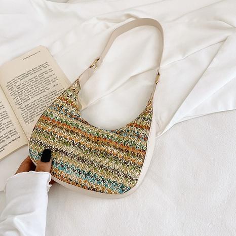 neue Art und Weise gewebte Tasche Seidenschal One-Shoulder-Tasche Großhandel nihaojewelry NHRU395046's discount tags