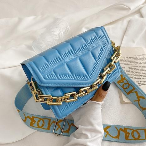 neue einfache kleine bestickte Fadenschulterkette quadratische Tasche Großhandel nihaojewelry NHRU395051's discount tags