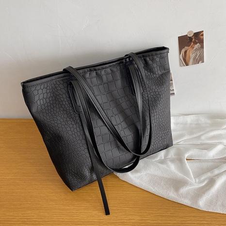 Koreanische Art und Weise große Kapazität Schulter Retro-Einkaufstasche Großhandel nihaojewelry NHRU395057's discount tags