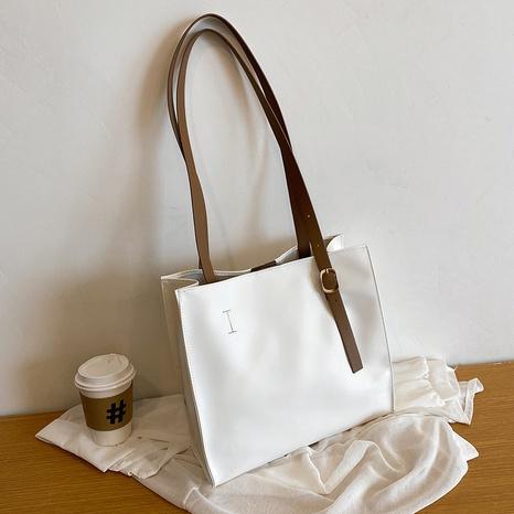 neue einfache lässige One-Shoulder-Tasche mit großem Fassungsvermögen Großhandel nihaojewelry NHRU395060's discount tags