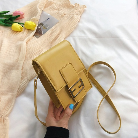 neue Mode Mini Schulter Kontrast Farbe Messenger Bag Großhandel nihaojewelry NHRU395062's discount tags