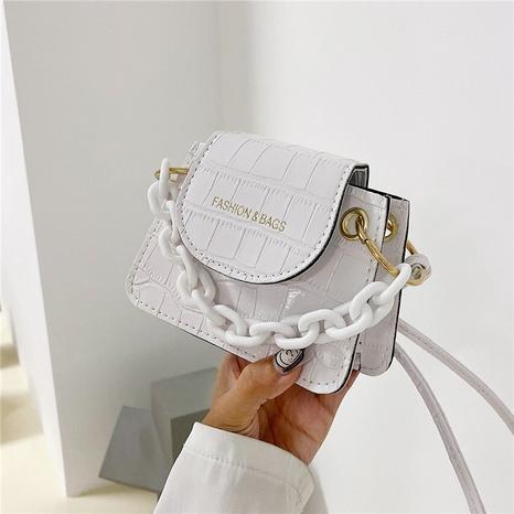 neue mode einfarbig mini dicke kette großhandel nihaojewelry NHRU395065's discount tags